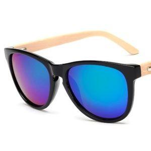 1243e703c5 Vintage Bamboo Foot Sunglasses - Black